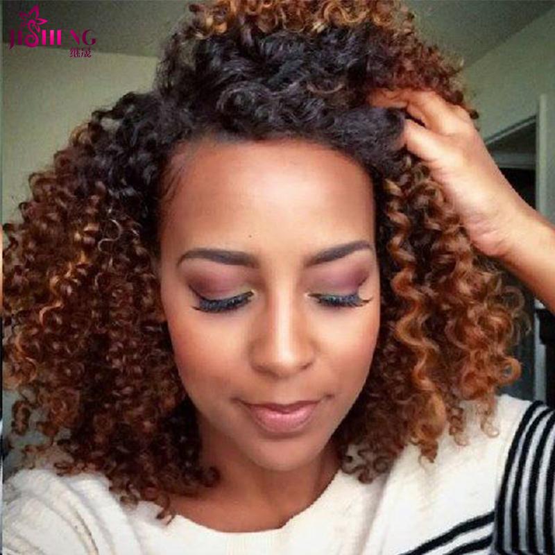 Rosa Hair Products Brazilian Deep Curly Virgin Hair Extensions 1pc Blonde Brazilian Hair Weave Bundles Ombre Human Hair Weave