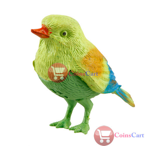 [Coins Cart] New Funny Sound Voice Activate Sing Singing Natural Bird Baby Kids Toy High Quality(China (Mainland))