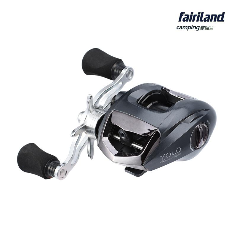 Fairiland 6 3 1 11bb baitcasting reel 196g for Fish drops reels