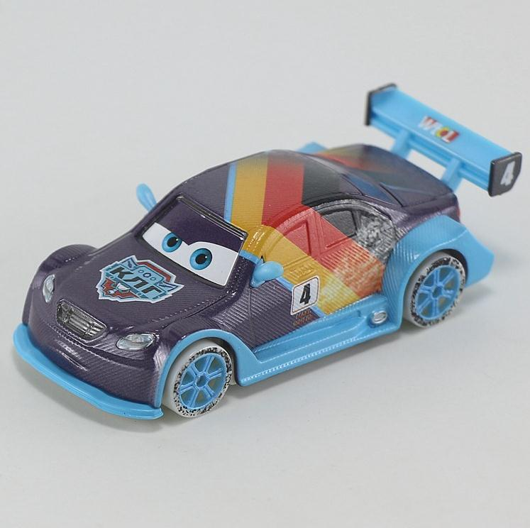 Russian Cup Ice Racer Max Schnell Cars pixar car Diecast Metal Toys For Kids 1:55 Loose Brand New In Stock Lightning McQueen(China (Mainland))