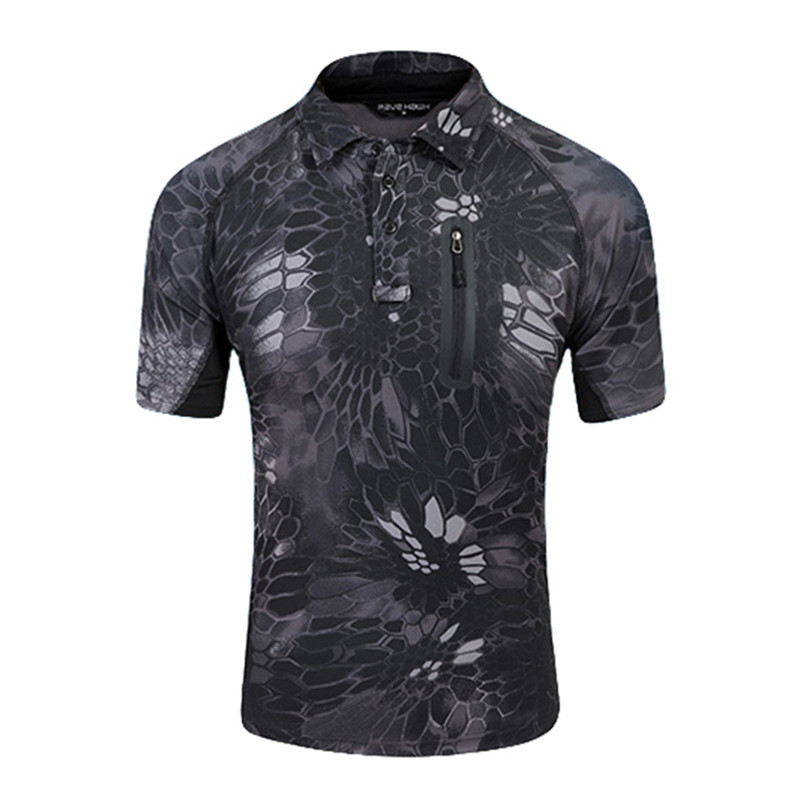 Mege new men 39 s brand tactical polo shirt coolmax for Expensive polo shirt brands