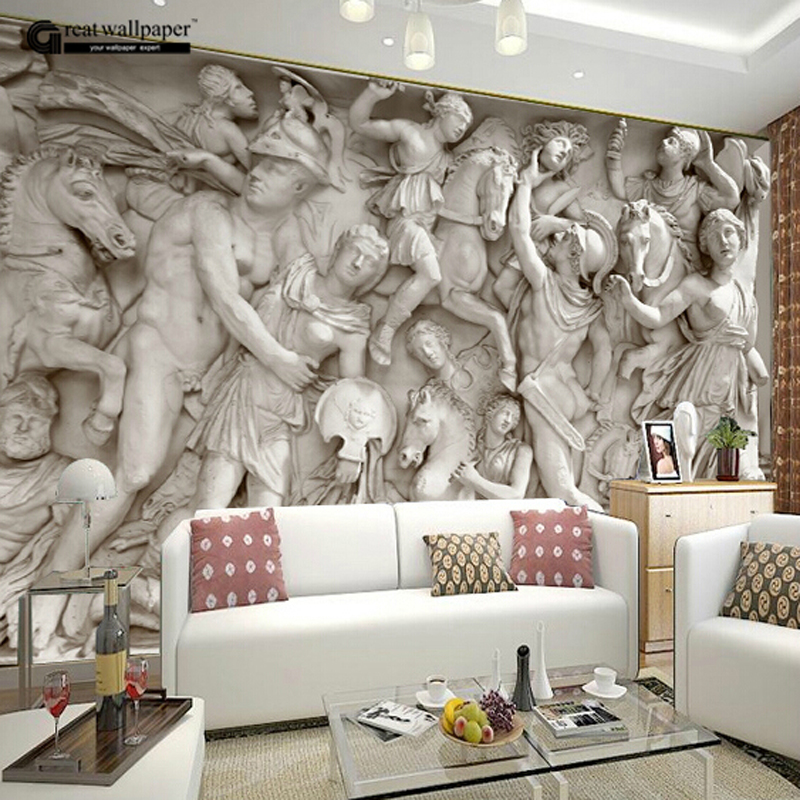 Buy Great Wall 3d Wall Wallpaper Murals