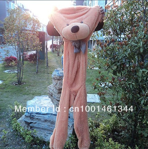 Wholesale 180cm teddy bear plush toys high quality and low price skin holiday gift birthday gift valentine gift free shipping(China (Mainland))