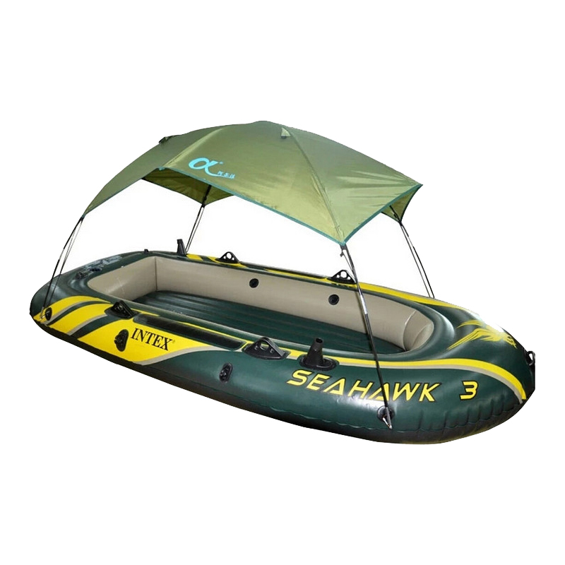 Intex Seahawk Inflatable Boat Tent Sun Shelter 2 3 4 Person PVC Rubber Intex Fishing Boat Tent Sun Canopy (No Boat)(China (Mainland))
