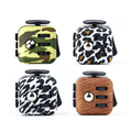 3 3cm Comouflage Mini Fidget Cube 2 Desk Finger Toy Squeeze Fun Stress Reliever Puzzle Magic