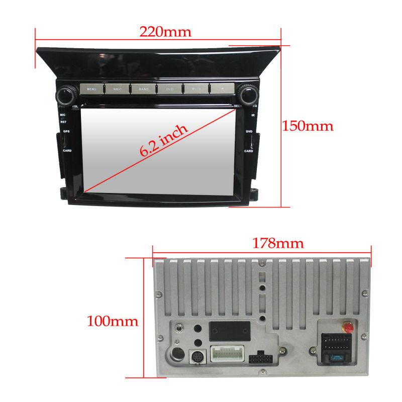 For LSQ star 2 din Car radio gps for Honda Pilot with radio/RDS/BT/Ipod list/USB/SD/3G/WIFI/SWC/Optional build-in ISDB-T/DVB-T