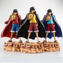 One Piece Japanese Anime Monkey D Luffy Onepiece New World Eternal Calendar Action Figure Toys Juguete 20cm PVC Model S107
