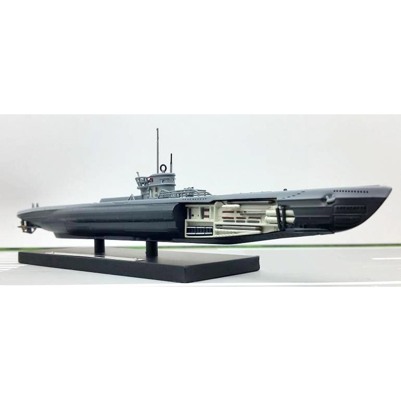 ATLAS World War II 1943 Germany U214 Submarine Model 1/350 Scale Diecast Finished Alloy Toy For Collect Gift(China (Mainland))