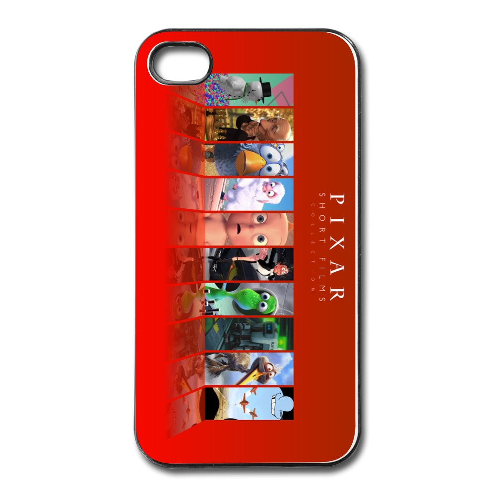 2014 Fashion Custom For Iphone 4 Case Pixar Short Films Design Your Own 4 4s Covers With Art Logo(China (Mainland))