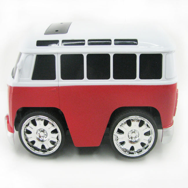 Brand New KeYe Scale 4CH RC Car Toys Classic Hippy Bus Diecast Pull Back Plastic Model Car Toy For Children Kids Gift Loose(China (Mainland))