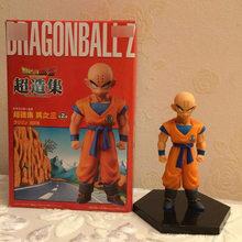 Dragon Ball Z Figura de Ação DBZ Goku Kuririn Estilo Pé Amigo Coleção Brinquedos Modelo 11 cm(China)