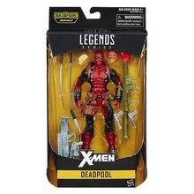 Deadpool Marvel Legends 20 Articulações Móveis Deadpool Action Figure Set Brinquedo para Crianças Quente Vinil Colecionáveis Brinquedos de Descompressão(China)