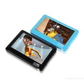 HD Touch Screen 8GB MP4 Blue MP5 Player With Speaker Av Out Game Console 4 3