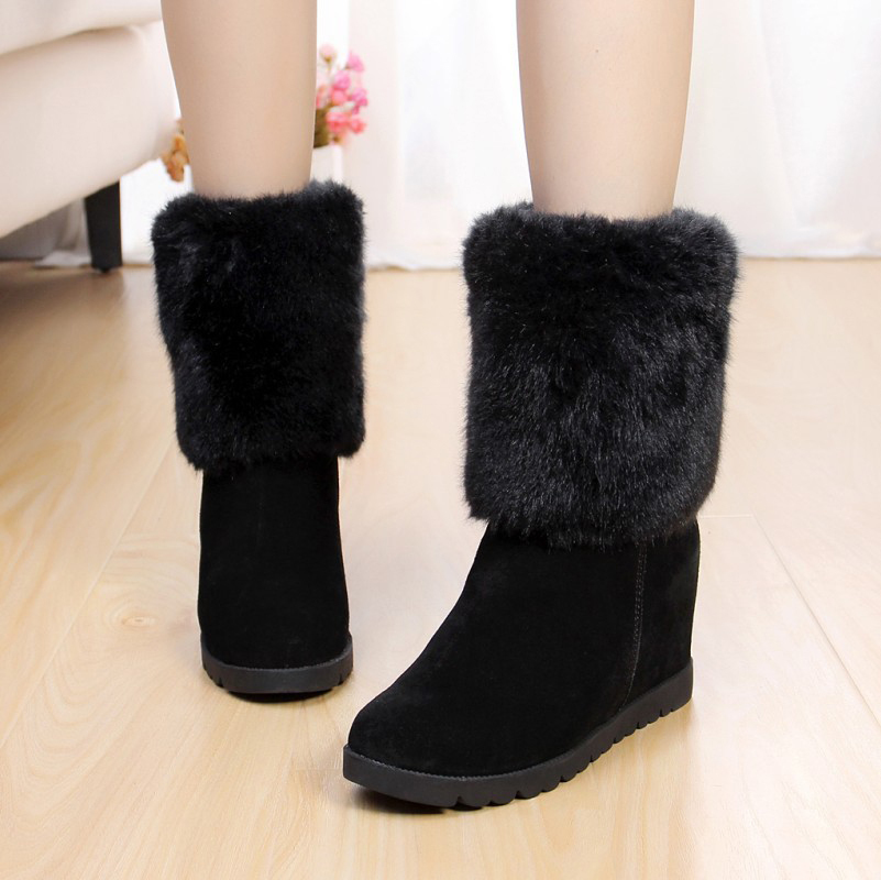 korean women boots with cool picture sobatapkcom