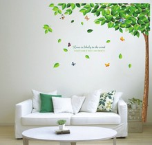 tree decal wall promotion