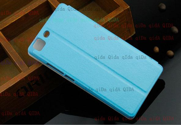 repairment leather case leather cover For oppo R5 /5.2/ R8107 R8109(China (Mainland))