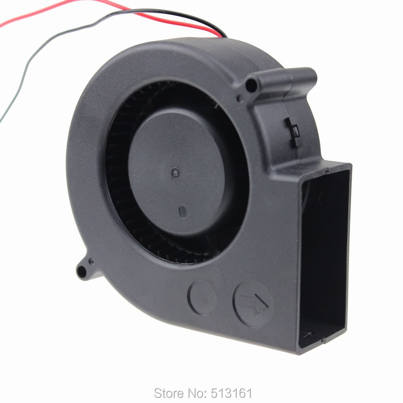 10pcs/lot Industrial Cooling Blower Fan GDT DC 12V 2Pin 90MM 97x97x33mm 9733 Turbine Cooler(China (Mainland))