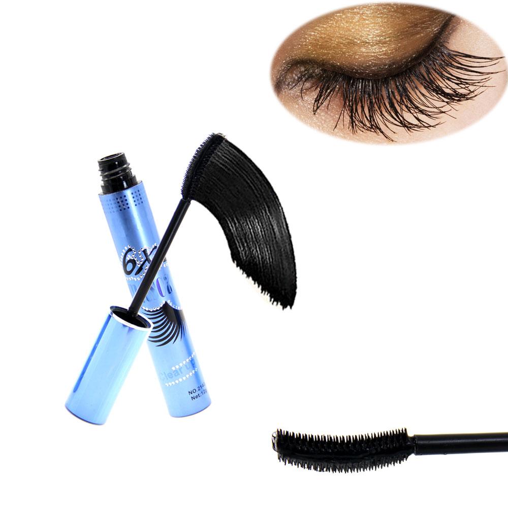 New Brand Mascara Black Waterproof Long-lasting Curling Thick Eyelash Makeup Extension Lengthening Eye Lash Volume Cosmetic Tool(China (Mainland))