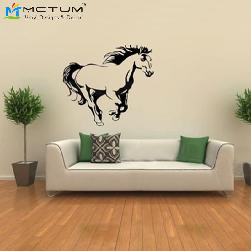 Wallpapers for wall decor picture more detailed picture for Awesome home design ideas with horse decals for walls