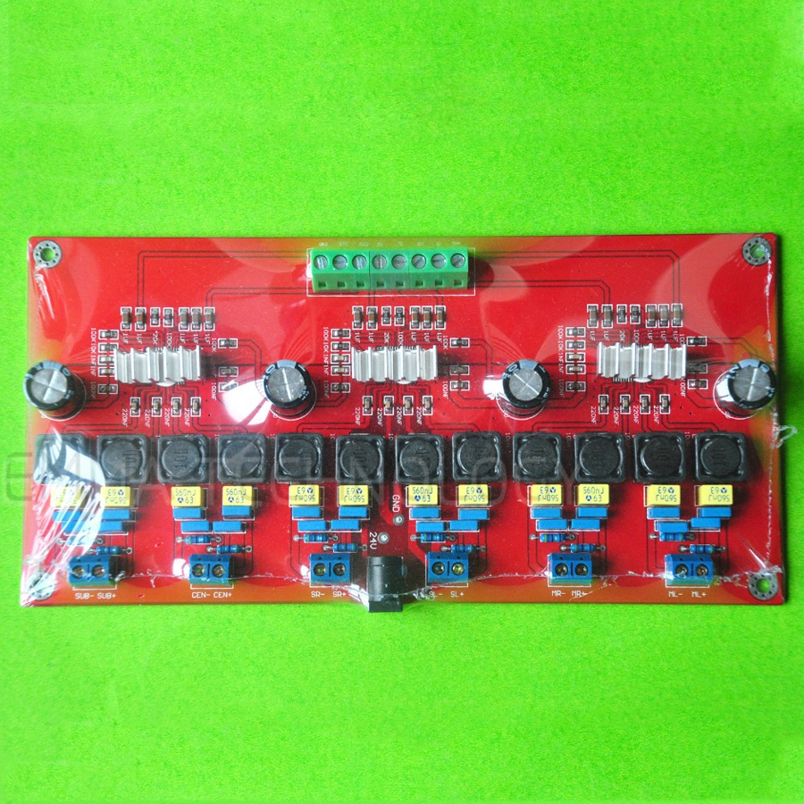 TPA3116 6 Channel Amplifier Board 50W x - Emma Technology Co., Ltd. store