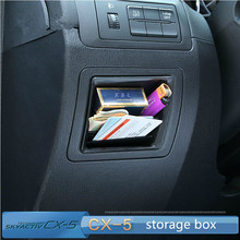 Free shipping!For MAZDA CX-5 cx5 central control storage box glove box for cx-5 accessories(China (Mainland))