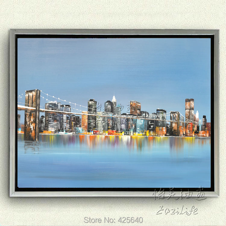 Buy new york city painting home decor for Where to buy wall paint