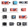 13 in 1 Sensors Modules Starter Kit Flame for ARDUINO MCU Education User TE272