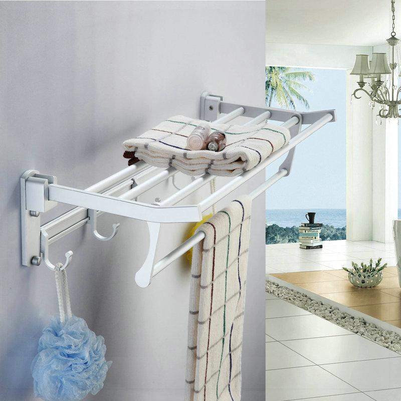 factory tap Space aluminum towel rack bathroom hardware towel rack classic towel bar shelf aparelhos para banheiro(China (Mainland))