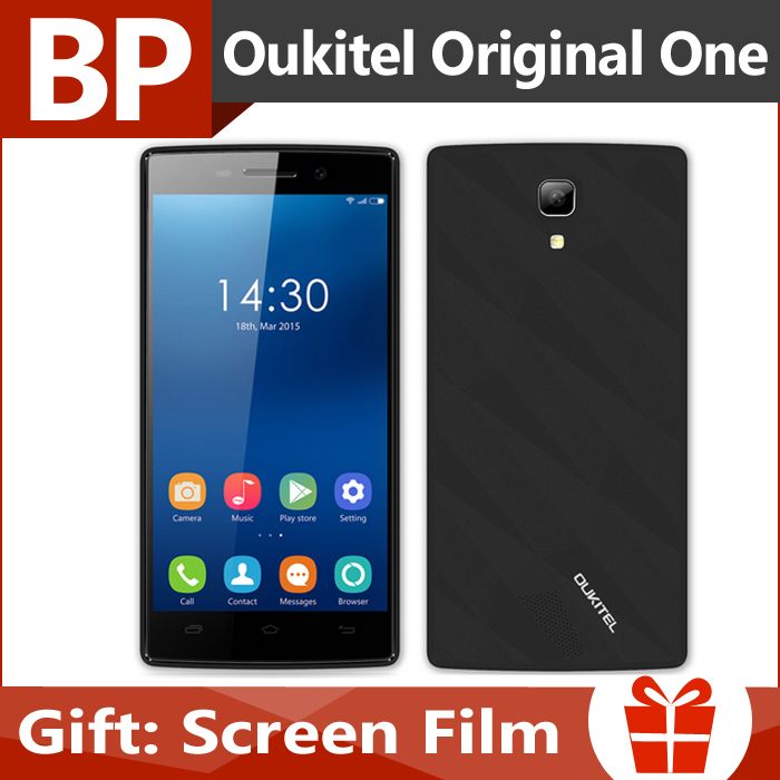 Original OUKITEL Original One 4.5 Inch 854x480 IPS MTK6582 Quad Core Android 4.4 Mobile Cell Phone 512MB 4GB 2MP 5MP(China (Mainland))