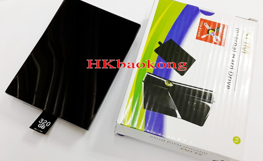 320G Hard Disk Drive HDD Box Xbox360 Xbox 360 Slim - Shenzhen Technology Co..Ltd store
