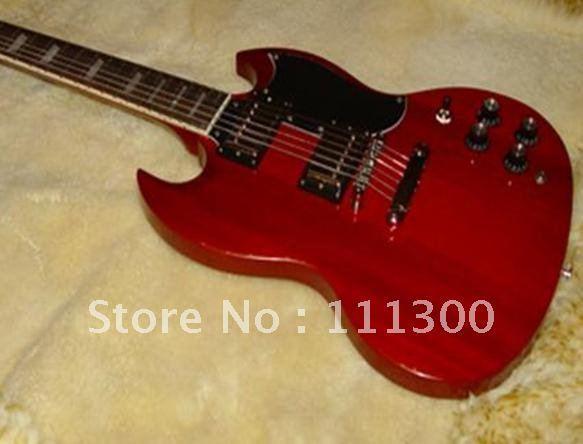 Wholesale - NEW Custom  Custom Stopbar 2 pickups Electric Guitar in red