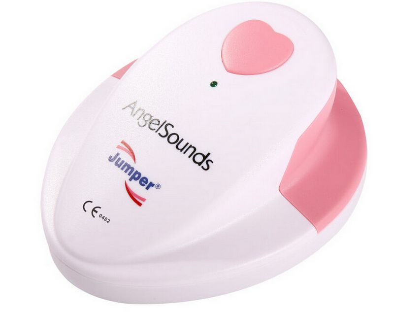 Portable Doppler Pocket Ultrasound Baby Heart Rate Monitor Portable Prenatal Fetal Detector CE&FDA Angelsounds Mini Fetal