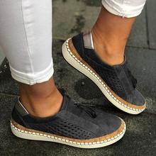 Disputent/Повседневная обувь 2019 г. женские кроссовки без шнуровки женские удобные женские лоферы на плоской подошве tenis feminino Zapatos De Mujer(China)