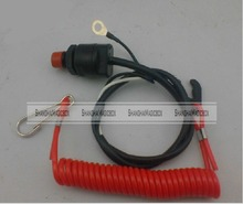 ShanghaiMagicBox Universal Boat Outboard Engine Motor Kill Stop Switch & Safety Tether Lanyard 50314302(China (Mainland))