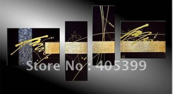 Free shipping !!! Huge Gallery Quality Thick Texture  Modern Oil Painting On Canvas G066