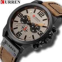 Top marque luxe CURREN 8314 mode bracelet en cuir Quartz hommes montres décontracté Date affaires hommes montres horloge Montre Homme(China)