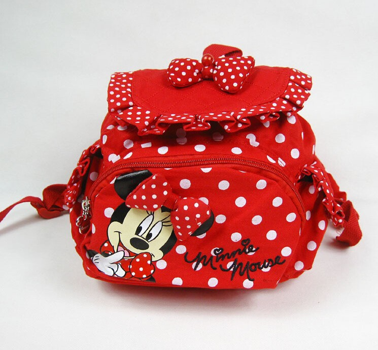 MeiyaShidun cute animal Cartoon kids backpack Minnie Mouse Girls Backpacks Children's School Bag mochila kindergarten Baby gifts