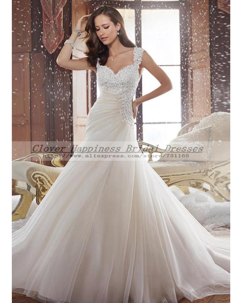 Vestido de noiva sereia renda sexy vintage open back lace for Vintage open back wedding dresses