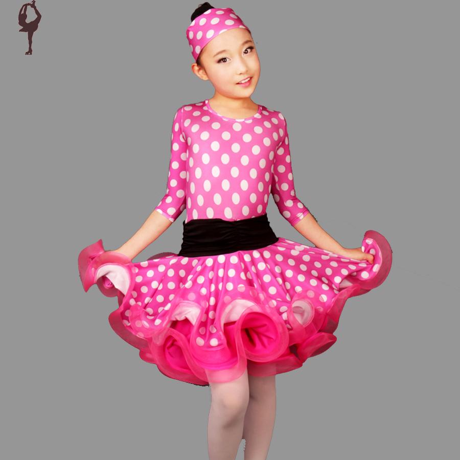 Acheter robe de danse latine pour les - Danse de salon enfant ...