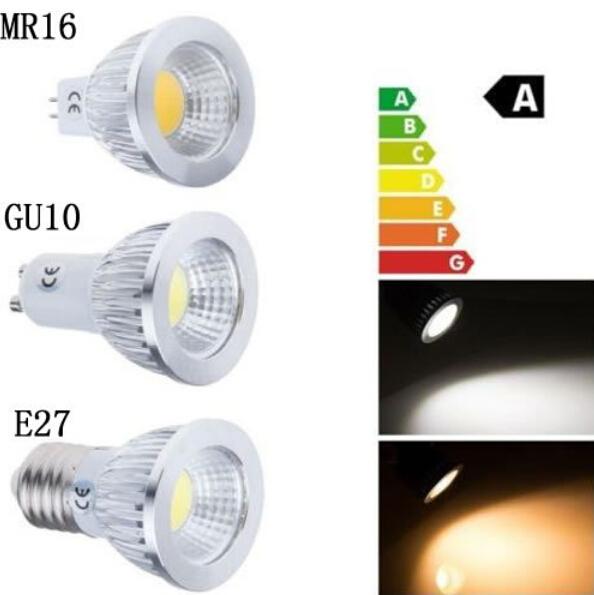 super bright cob led lamp gu10 mr16 lampada led bulb e27. Black Bedroom Furniture Sets. Home Design Ideas