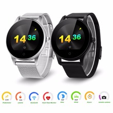 Buy Excelvan K88H Smart Watch 1.22 Inch Round Screen Support Heart Rate Monitor Bluetooth smartWatch apple huawei IOS Android for $41.99 in AliExpress store