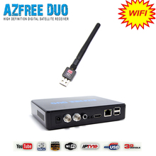 Azbox receiver and satellite azfree duo with wifi antenna work for South America(China (Mainland))