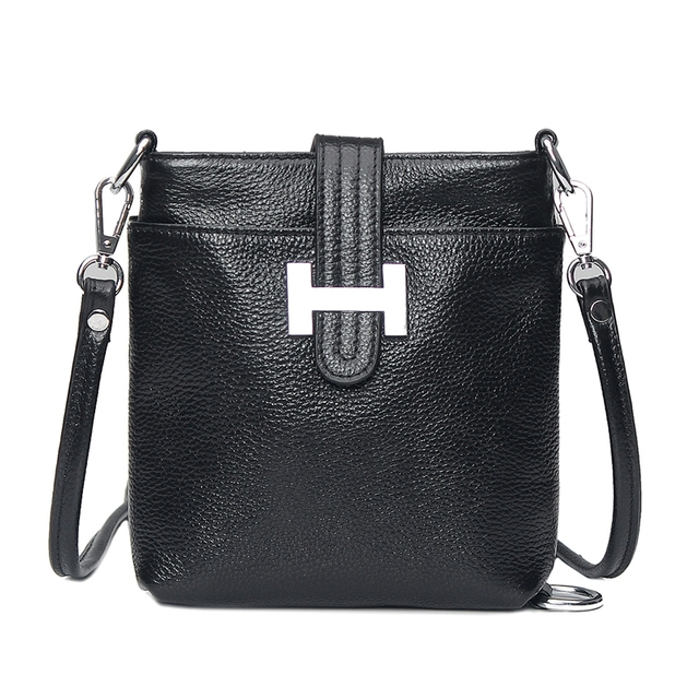 ON SALE Famous brand Women Genuine Leather Handbag Hobos 100% real leather Shoulder Bag Cross-body Purses BH135 Free Shipping