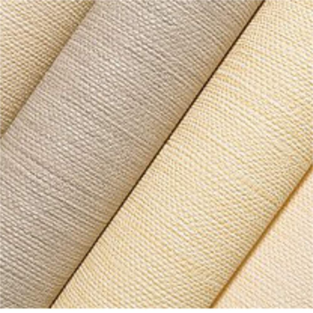 Straw modern vinyl wallpaper solid color emboss pvc wall for Solid vinyl wallcovering