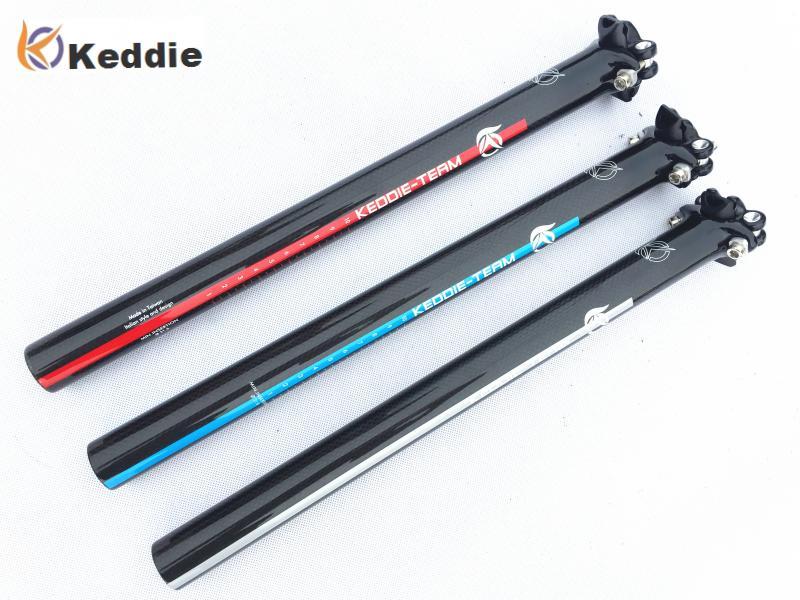 Keddieb Newest Mountain Bicycle Carbon Seatpost Road Carbon Fibre Bike Seatposts MTB Parts 27.2 30.8 31.6*350 400mm(China (Mainland))