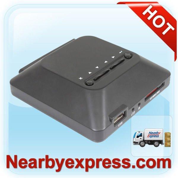 Mini Media Player PDM02H HDMI AV port support SD/MC/MMS