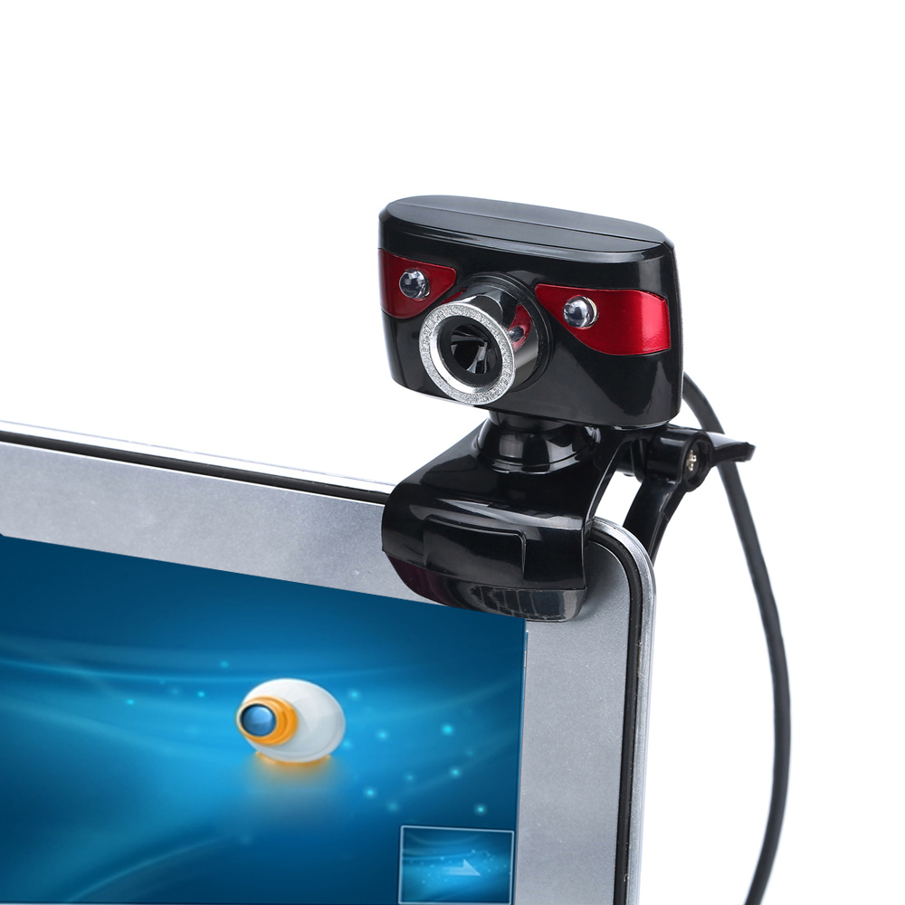 USB 2.0 12.0 Megapixel HD Camera Webcams 360 Degree with Mic Clip-on CMOS sensor Webcam for Desktop Skype Computer PC Laptop(China (Mainland))