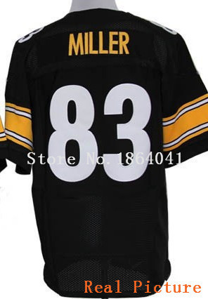 #83 Heath Miller Jersey,Elite Football Jersey,Best quality,Authentic Jersey,Embroidery Logo Football Jersey
