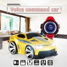Original KFTOYS R-101 1/30 2.4Ghz RC Car with Smart Watch Voice Command Function LED Head Lights(China (Mainland))