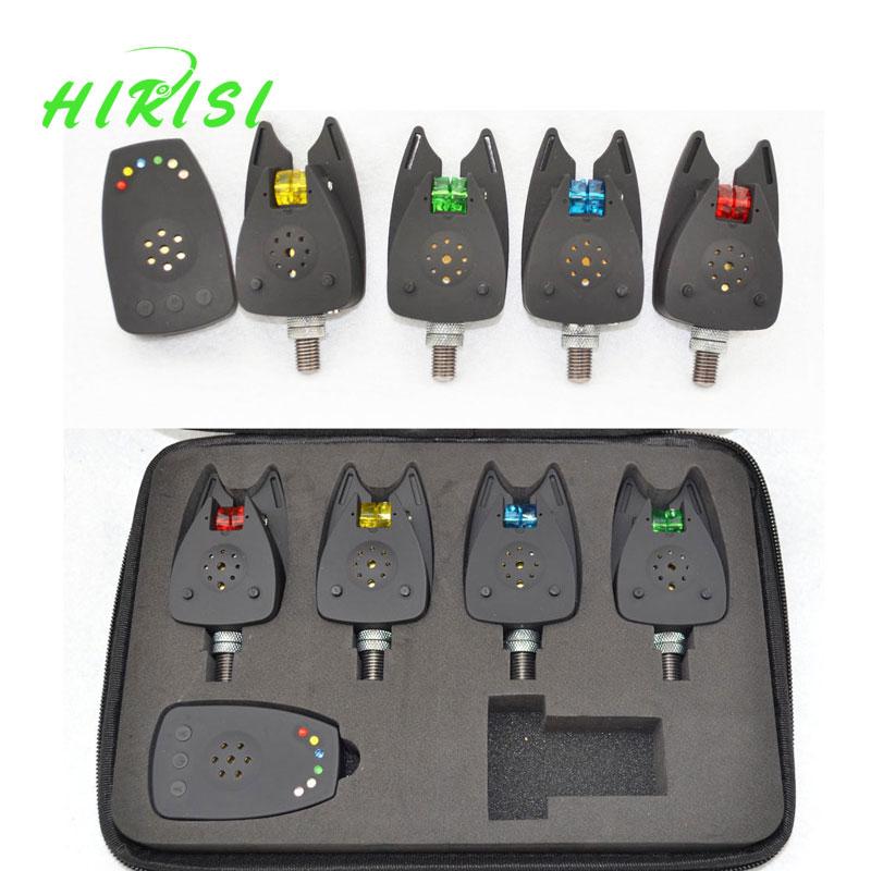 Fishing bite alarm wireless receiver mini digital set 1+4 - Hirisi Tackle (HongKong store Ltd Store)